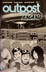 Image Comics's Outpost Zero Issue # 1ashcan