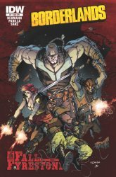 IDW Publishing's Borderlands: Fall of Fyrestone Issue # 2sub