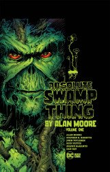 DC Black Label's Absolute Swamp Thing by Alan Moore Hard Cover # 1