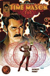 Action Lab Entertainment's Albert Einstein: Time Mason Issue # 1