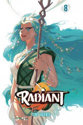 Viz Media's Radiant Soft Cover # 8