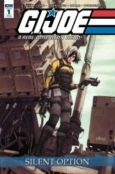 IDW Publishing's G.I. Joe: A Real American Hero - Silent Option Issue # 1ri-b