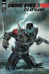 IDW Publishing's Snake Eyes: Deadgame Issue # 3