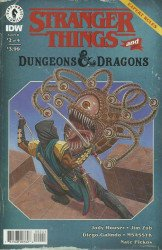Dark Horse Comics's Stranger Things and Dungeons & Dragons Issue # 2d