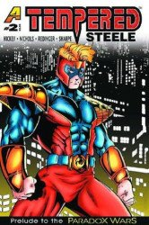 Afterburn Comics's Tempered Steele Issue # 2