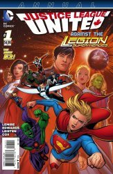DC Comics's Justice League United Annual # 1