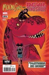 Marvel Comics's Moon Girl and Devil Dinosaur Issue # 23