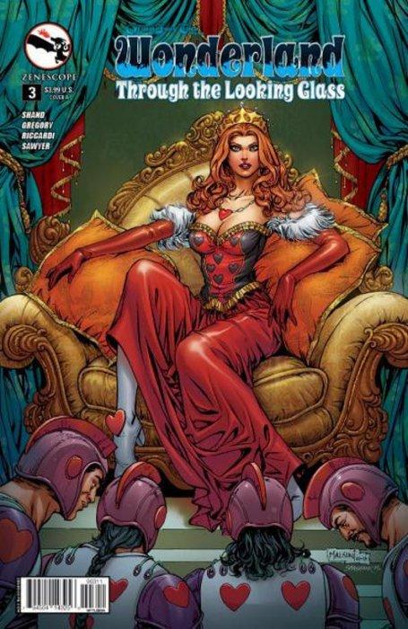 Grimm Fairy Tales Vs Wonderland #3 3B cover Zenescope comic