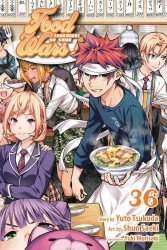 Viz Media's Food Wars: Shokugeki No Soma TPB # 36