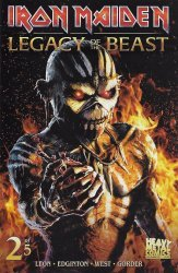 Heavy Metal's Iron Maiden: Legacy of the Beast Issue # 2c