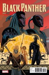 Marvel Comics's Black Panther Issue # 10b