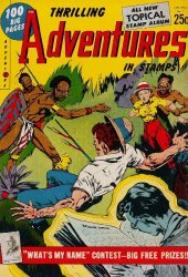 Youthful Magazines's Thrilling Adventures in Stamps Comics Issue # 8