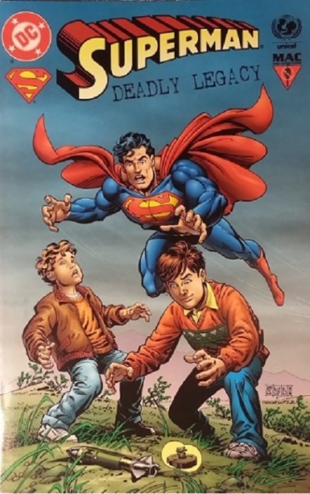Superman The Legacy Of Superman #1 March 1993 Art Work By ...   Superman Legacy