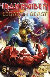 Heavy Metal's Iron Maiden: Legacy of the Beast Issue # 5