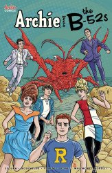 Archie Comics Group's Archie Meets the B-52s Issue # 1b