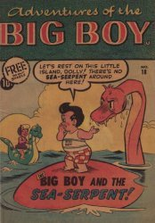 Timely Comics's Adventures of Big Boy Issue # 18west