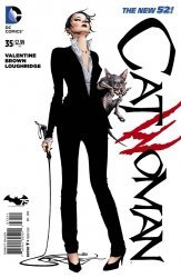 DC Comics's Catwoman Issue # 35
