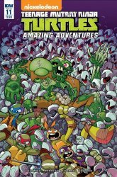 IDW Publishing's Teenage Mutant Ninja Turtles: Amazing Adventures Issue # 11