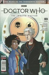 Titan Comics's Doctor Who: The Road To The 13th Doctor Issue # 3c