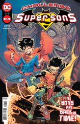 DC Comics's Challenge of The Super Sons Issue # 1