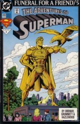 DC Comics's The Adventures of Superman Issue # 499