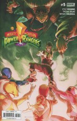 BOOM! Studios's Mighty Morphin Power Rangers Issue # 5