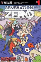 Valiant Entertainment's Generation Zero Issue # 1bcc