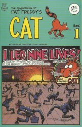 Rip Off Press's Adventures of Fat Freddy's Cat Issue # 1i