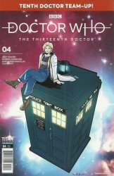 Titan Comics's Doctor Who: 13th Doctor - Season 2 Issue # 4c