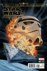 Marvel Comics's Journey to Star Wars: Force Awakens - Shattered Empire Issue # 2disposable