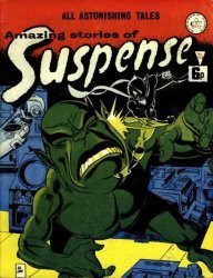 Alan Class & Company's Amazing Stories of Suspense Issue # 124