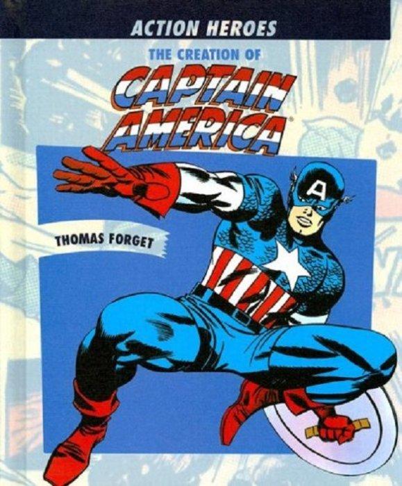 Rosen Publishing Groups Creation Of Captain America Hard Cover 1