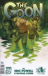 Albatross Exploding Funny Book's The Goon Issue # 1