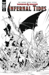 IDW Publishing's Dungeons & Dragons: Infernal Tides Issue # 4ri