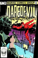 Marvel Comics's Daredevil Issue # 192