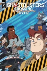 IDW Publishing's Ghostbusters: Crossing Over Issue # 7