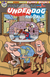 American Mythology's Underdog & Pals Issue # 1b