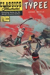 Gilberton Publications's Classics Illustrated #36: Typee Issue # 1f