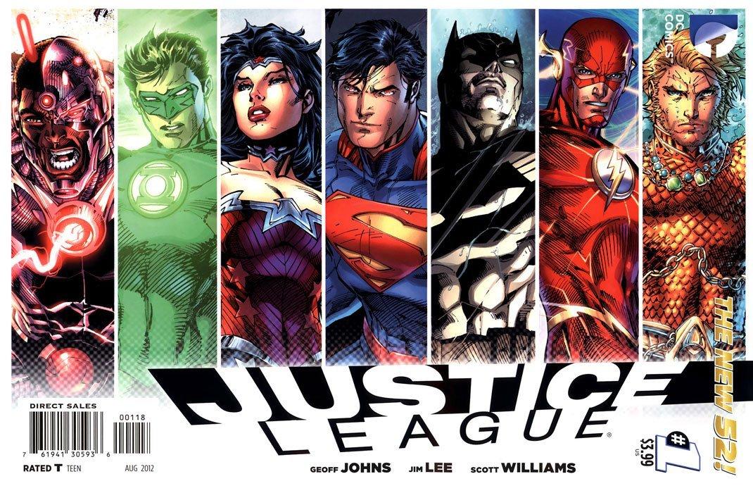 Dc Comics Justice League : Justice league dc comics comicbookrealm
