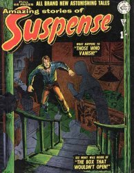 Alan Class & Company's Amazing Stories of Suspense Issue # 9