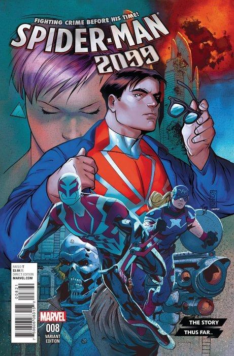 Marvel comicss spider man 2099 issue 8b