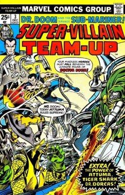 Marvel Comicss Super Villain Team Up Issue 3