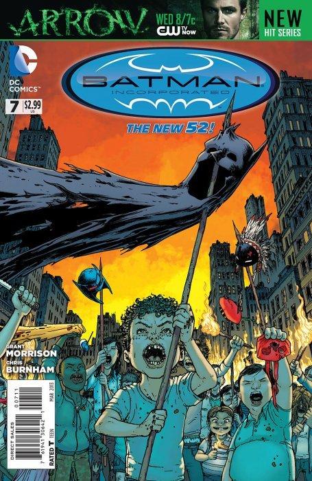 Batman Incorporated #7 Var VF//NM