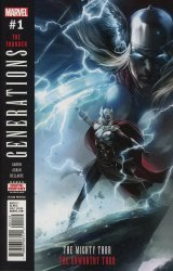 Marvel Comics's Generations: Unworthy - Thor & Mighty Thor Issue # 1 - 2nd print