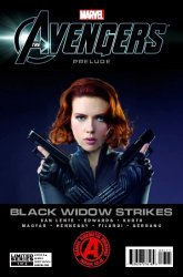 Marvel Comics's Marvel's Avengers Prelude: Black Widow Strikes Issue # 1