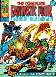 Marvel UK's Complete Fantastic Four Issue # 16
