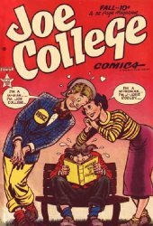 Hillman Publications's Joe College Comics Issue # 1