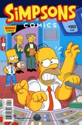 Bongo Comics's Simpsons Comics Issue # 202