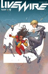 Valiant Entertainment's Livewire Issue # 7