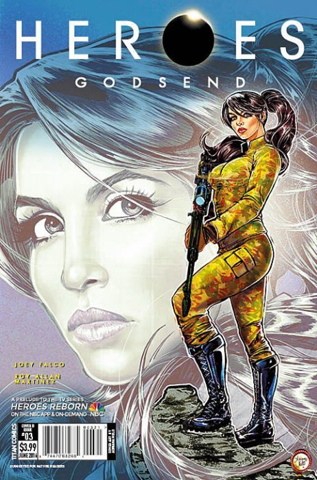 HEROES GODSEND #5 COVER A COMIC Titan 2016 1st Print